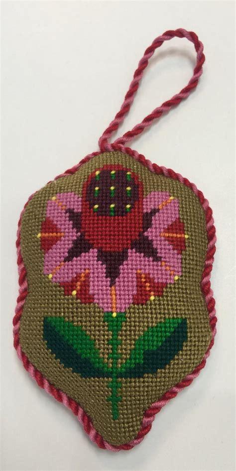 needlepoint ornament finishing