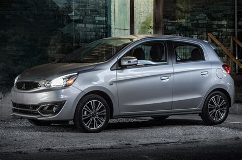 mitsubishi mirage 2018 mitsubishi mirage and mirage g4 gain a 7 inch