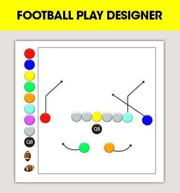 football play designer 7 on 7 flag football plays 7 playbook for youth and
