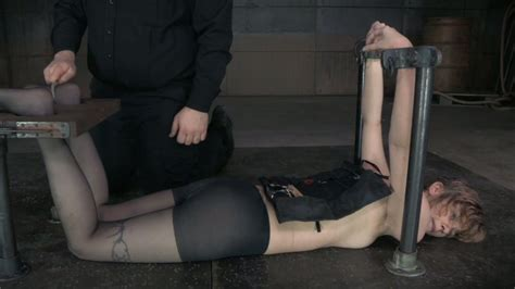 Submissive Fair Haired Bitch Mercy West Gets Restrained