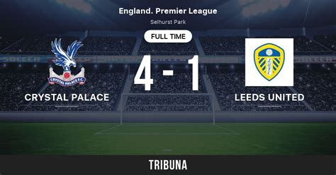 Crystal Palace - Leeds United: Live Score, Stream and H2H ...