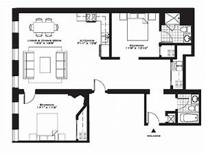 Luxury two bedroom house plans inspirational exquisite for Luxury two bedroom apartment floor plans