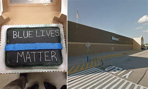 walmart employees refuse   racist blue lives
