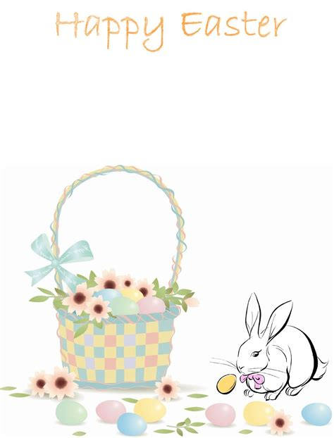 easter bunny stationery step  easter bunny letter