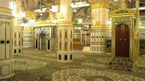 subhanallah inilah makam baginda nabi muhammad