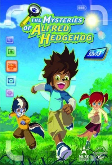 The Mysteries Of Alfred Hedgehog DVD PLANET STORE