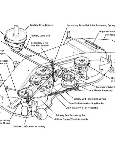Need Belt Diagram For John Deere Riding Mower