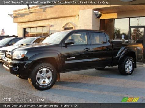 2005 Tacoma Prerunner by Black Sand Pearl 2005 Toyota Tacoma Prerunner Cab