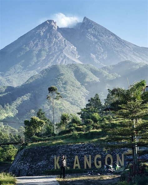 bukit klangon merapi destinasi wisata  jogja  hits
