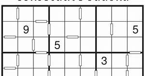 Consecutive Sudoku Puzzle  Fun With Sudoku  341