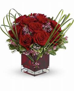 Teleflora's Sweet Thoughts Bouquet with Red Roses - Pesche's