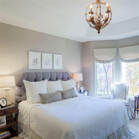 farrow  ball elephants breath bedroom  bedframe