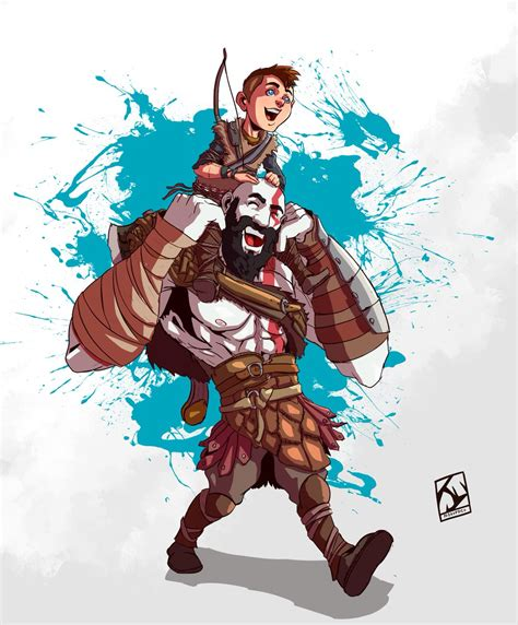 Juliano Vieira On Twitter God Of War 4 Fan Art Godofwar