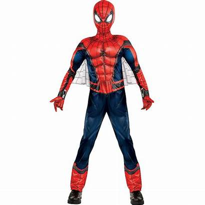 Costume Spider Homecoming Boys Muscle Spiderman Costumes