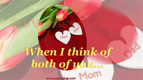 happy anniversary ecard  mom dad good wishes  lifetimes youtube