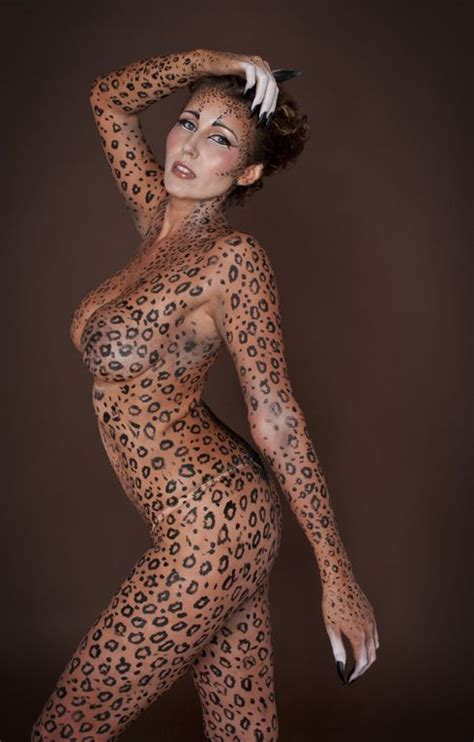 Jungle Theme Nude Body Paint Google Search Fine Nudes Pinterest Leopards Body Paint And