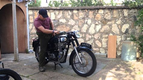ajs 16ms 1956 start up compleat rebuild
