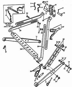 Hydraulic Lift Link Parts For Ford 8n Tractors  1947