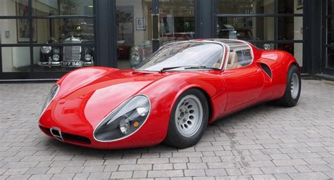 Alfa Romeo 33 Stradale by Holy Moses An Alfa Romeo 33 Stradale Just Turned Up For