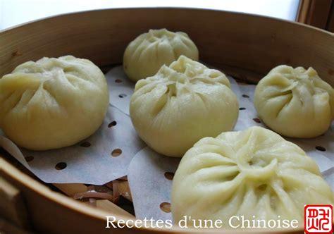 recettes d une chinoise baozi petit fourr 233 224 la vapeur 包子 bāo zi