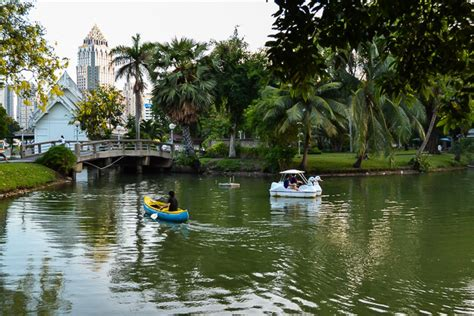 Swan Boats Lumpini Park by Lumpini Park Bangkok S Answer To New York S Central Park