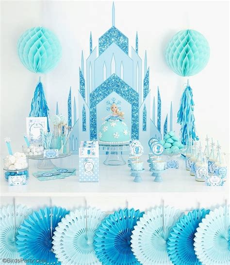 frozen inspired birthday party party ideas party