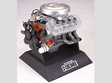 Dodge 426 Hemi Engine Plastic Model Kit Testors 14