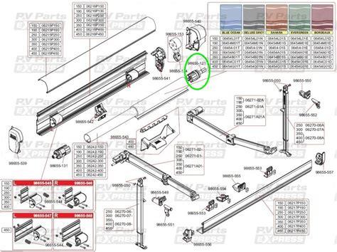 Fiamma F45 S Stop Device D.48mm (98655-121), Fiamma Awning