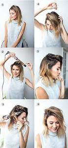 Tuto Coiffure Cheveux Court : tuto coiffure facile cheveux courts ~ Melissatoandfro.com Idées de Décoration