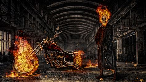 ghost rider hd wallpapers backgrounds wallpaper