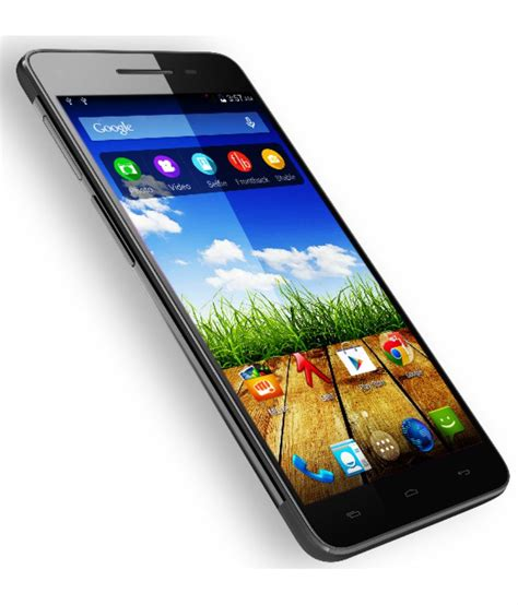 Mobile India by Micromax Canvas Hue 2 16gb Black Mobile Phones