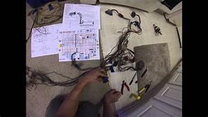 Wiring Harness Plans -  U0026 39 75 Honda Cb550 Cafe Racer Build Pt  11
