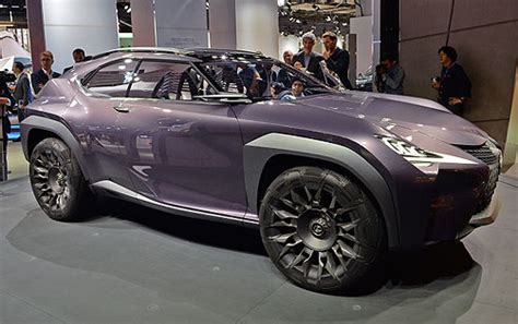 lexus ux concept trucks suv reviews