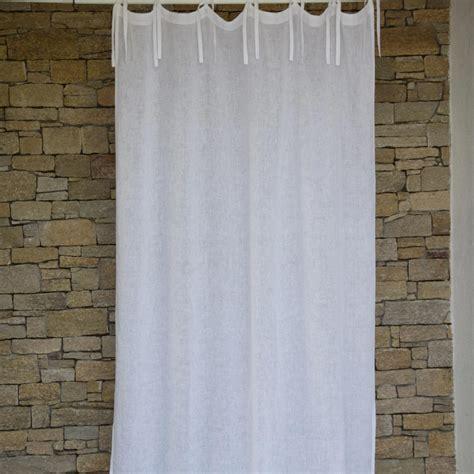 white linen gauze curtain maison d 233 t 233