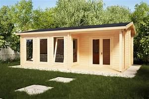 Winterfestes Gartenhaus Zum Wohnen : gartenhaus malaga i 22m2 7 x 4 m 58mm hansa gartenhaus ~ Eleganceandgraceweddings.com Haus und Dekorationen