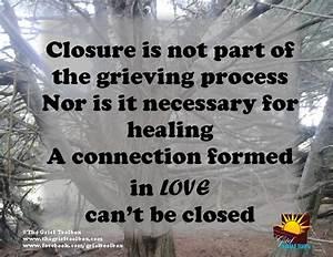 What is Closure... Closure Death Quotes