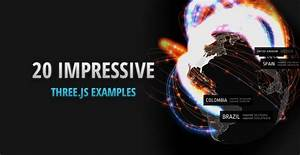 20 Impressive Examples For Learning Webgl With Three Js