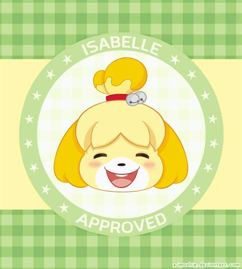 Isabelle Animal Crossing Wallpaper - isabelle animal crossing wallpaper by imoshie on