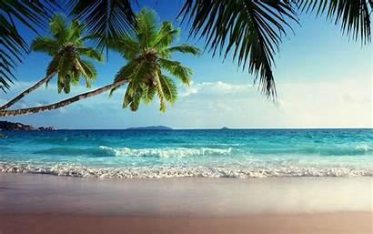 Tropical Beach Landscape Wallpapers Screensavers Desktop Computer
