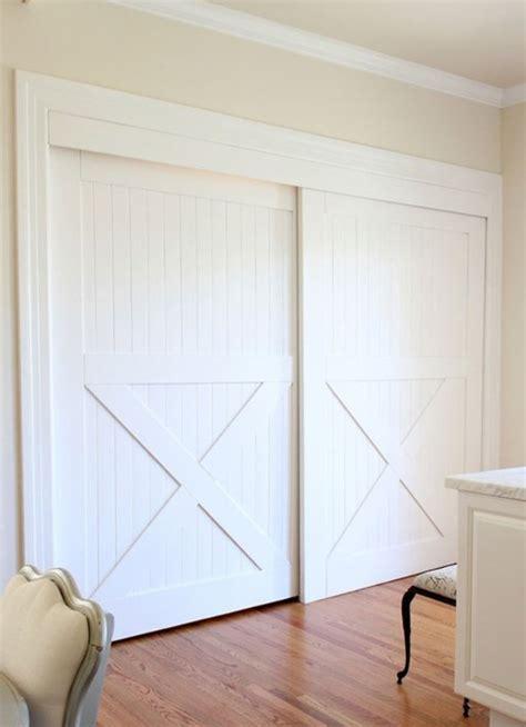 bypass closet doors decor ideas