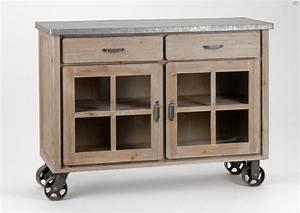 Meuble Cuisine Campagne : meubles zinc campagne amadeus meuble amadeus ~ Teatrodelosmanantiales.com Idées de Décoration