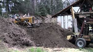 Lyle West John Deere 440 Diesel Dozer Moves Dirt