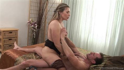 sexy lace top stockings on a horny hardcore mature slut