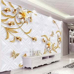 Custom 3D Wall Murals Wallpaper Luxury European Style 3D ...