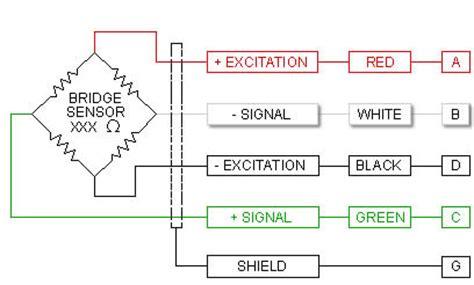5kg Wire Diagram by ما هى افضل طريقة لتوصيل حساس الوزن Load Cell مع