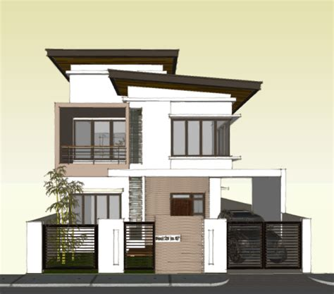 storey roof deck house plans