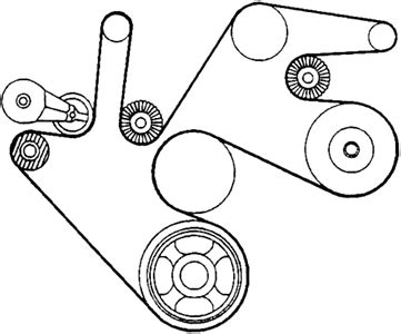 Solved Chevy Truck Serpentine Belt Diagrams Fixya