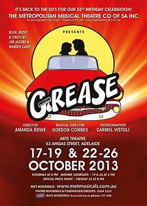 'Grease' Presented by Metropolitan Musical Theatre Company