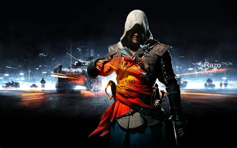 Assassin Battlefield Black Flag Style Creed Assassins