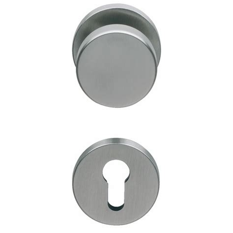 poignee bouton de porte original poign 233 e de porte et bouton fixe pour porte pali 232 re inox 316 normbau bricozor